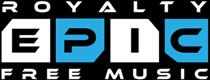 Epic Royalty Free Music Logo